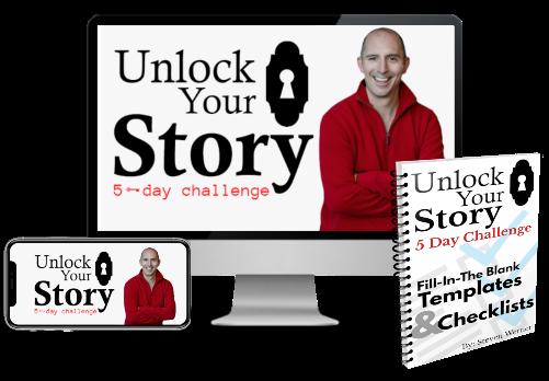 unlock your story challenge