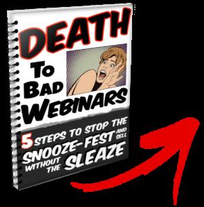 death to bad webinars free book